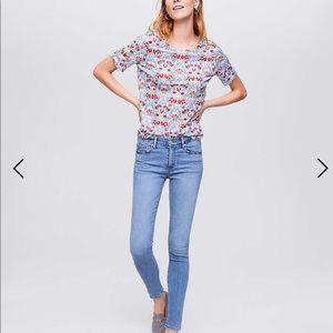 Loft straight leg jean